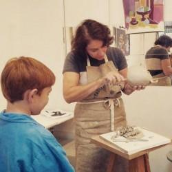 Cours de sculpture pour enfants et ados - Paris 16