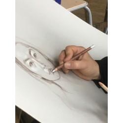 Cours de portrait au dessin et à l'aquarelle - Paris 17