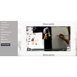 Cours de Peinture en ligne en Vidéo