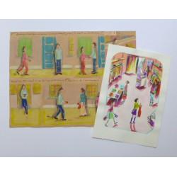 Cours de dessin et d'illustration - 6 à 10 ans - Paris 17